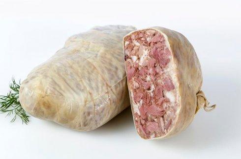 6.Salceson włoski w kątnicy wieprzowej